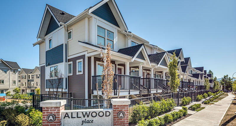 Allwood Place | Townhomes in Abbotsford | Onni Group